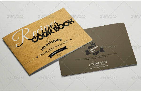rustic cookbook catalog template1