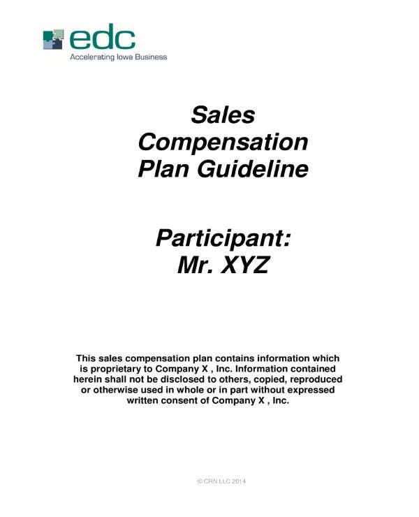 sales commission plan guideline 01