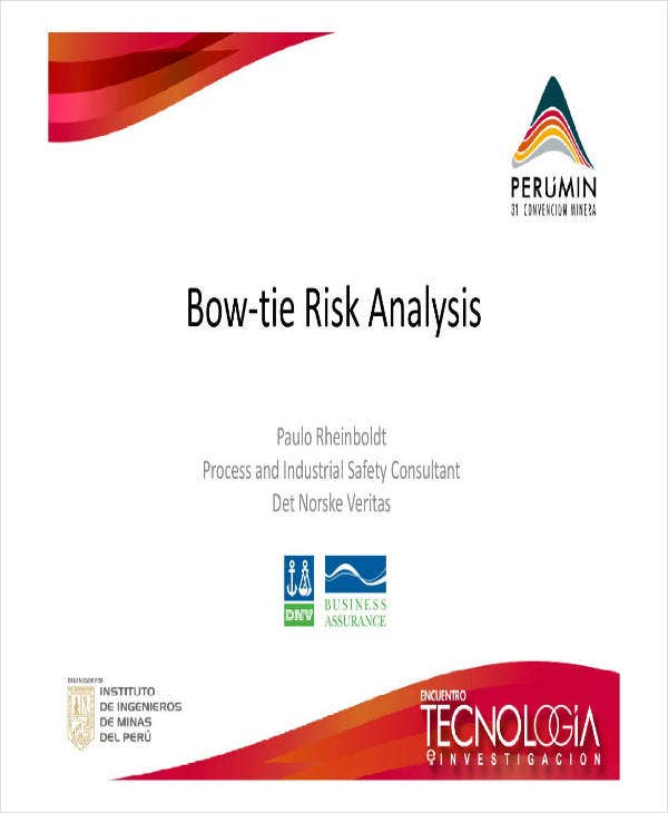 Sample Bow Tie Risk Analysis