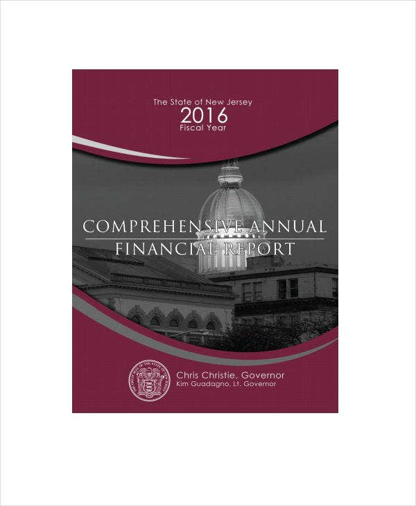 sample comprehensive annual financial report