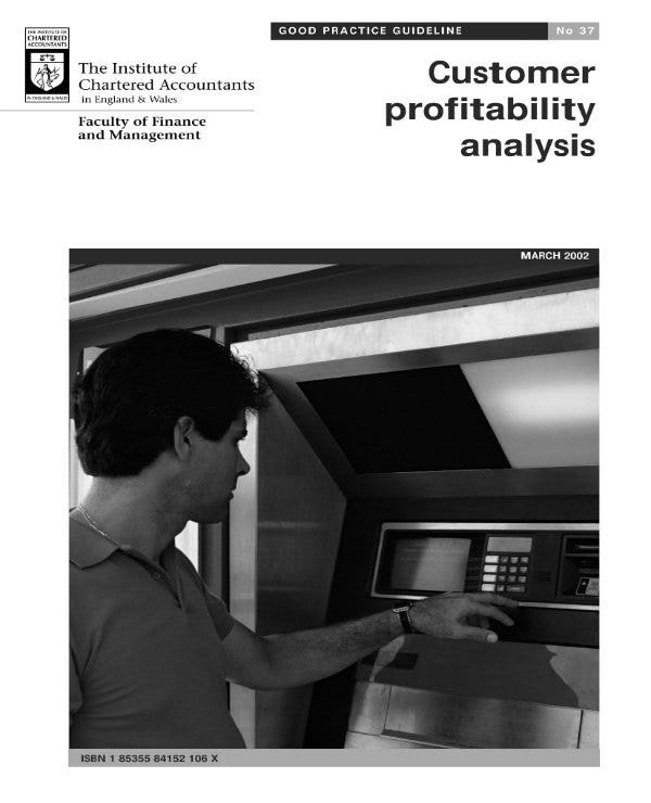 sample customer profitability analysis 01