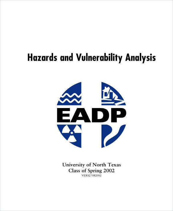 sample hazard vulnerability analysis