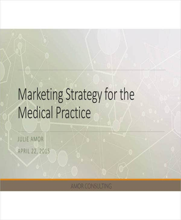 Sample Healthcare Marketing Plan
