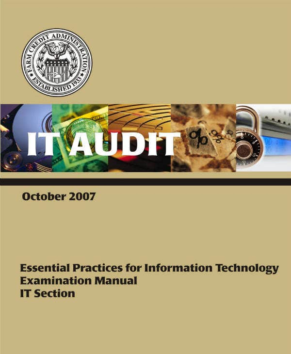 sample it audit report template