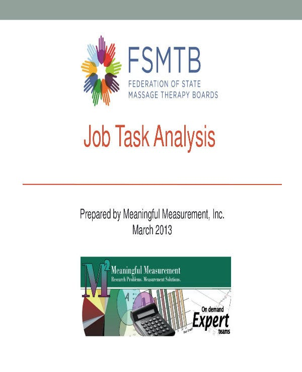 sample job task analysis 01