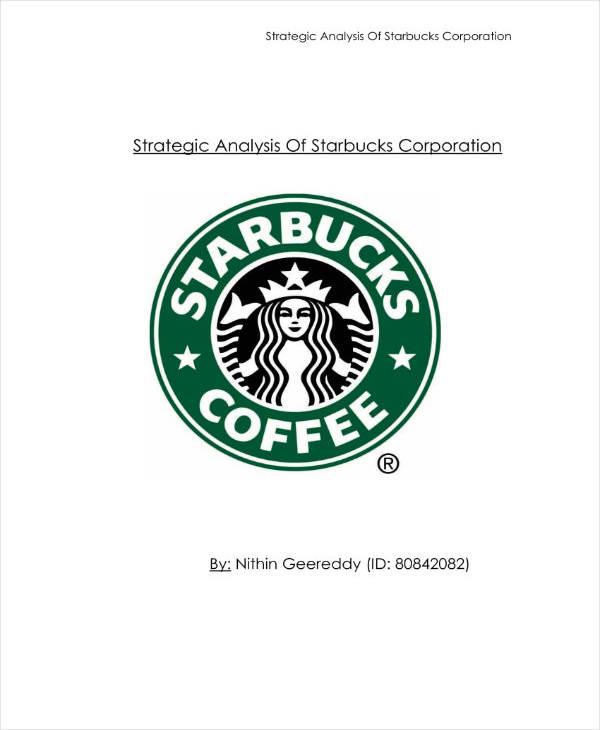 Sample Strategic Analysis Report