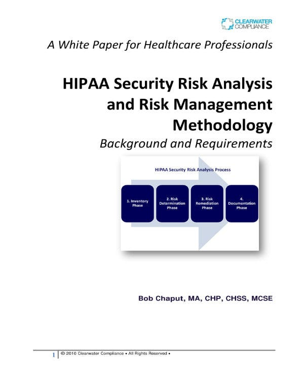 simple hipaa security risk analysis 01