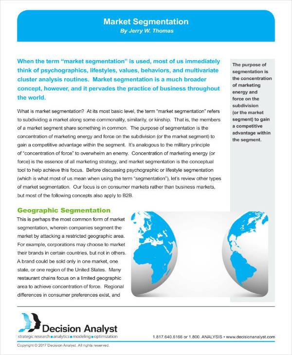 Simple Market Segmentation Analysis