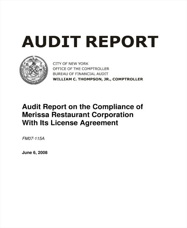 simple-restaurant-internal-audit-report