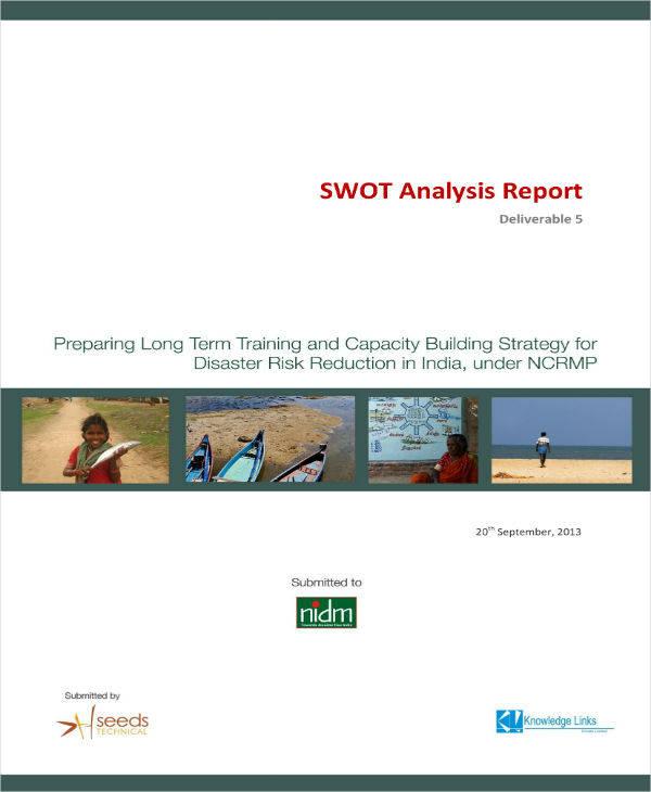 Simple SWOT Analysis Report