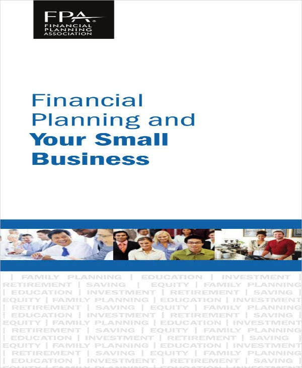small business financial plan sample