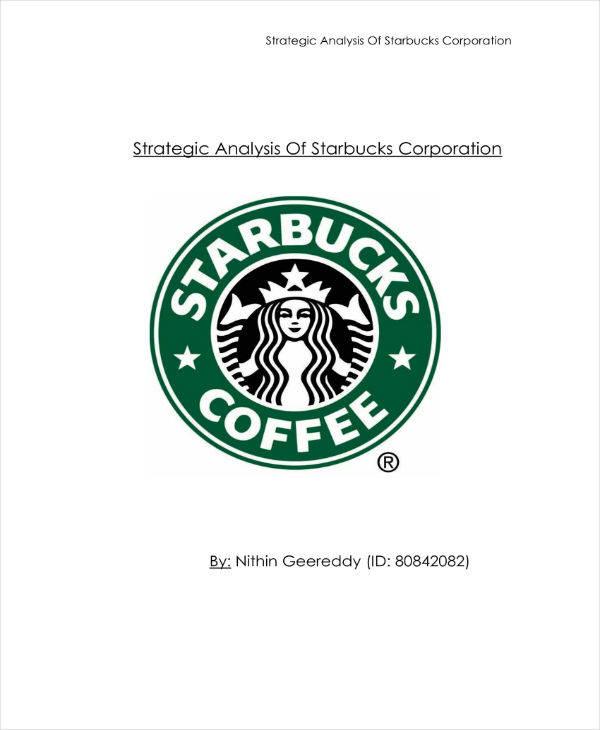 Starbucks Corporation Strategic Analysis
