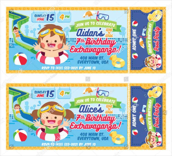 summer birthday extravaganza ticket