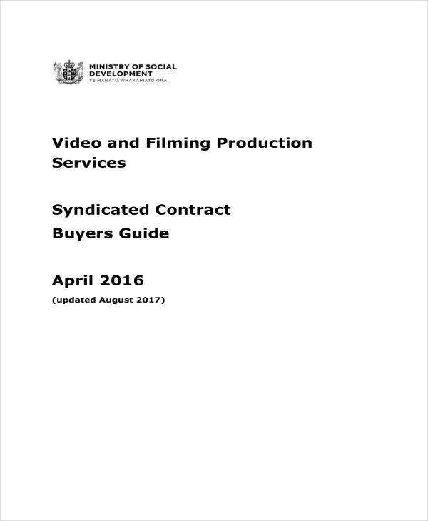 video and filming services guide
