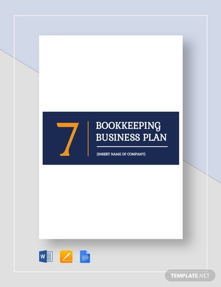 bookkeeping busines plan