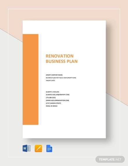 renovation business