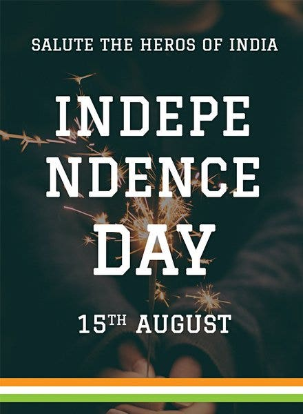 15th august independence day