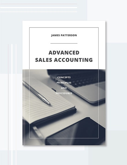 Accounting Book Cover Template