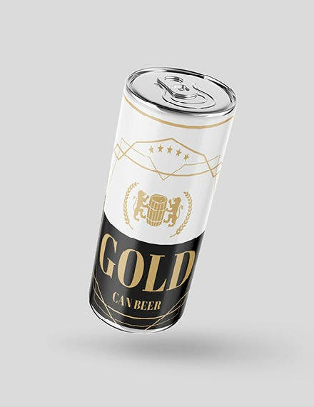 Beer Can Label 01 Mockup 440