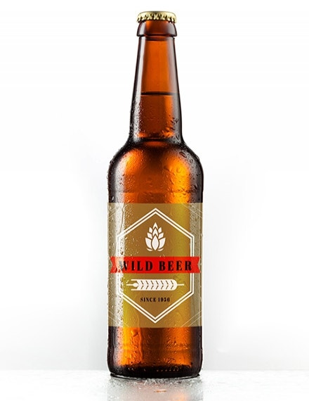 blank beer label template example