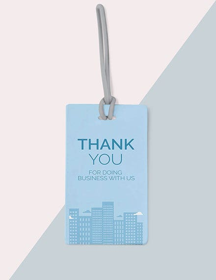 business event thank you tag template
