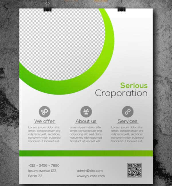 Business Flyer Template Example