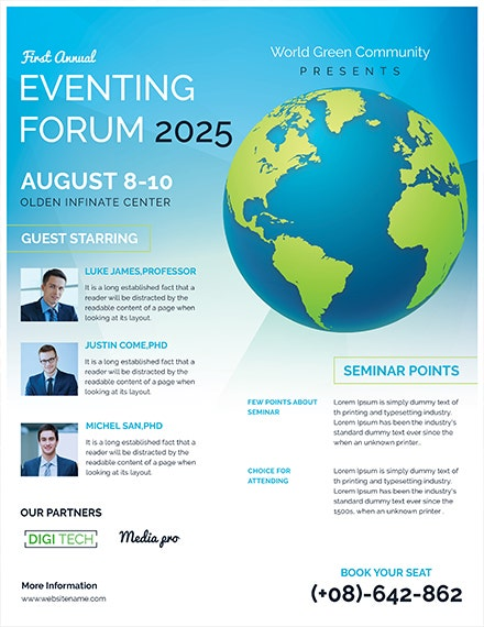 Business Forum Event Flyer Template1