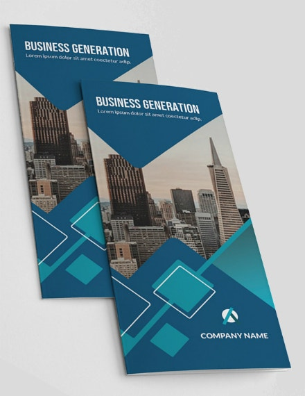 business generation trifold brochure sample