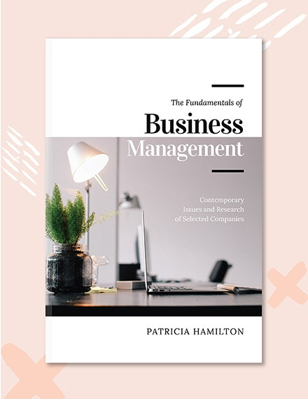 Business Management Book Cover Template