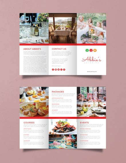 Catering Brochure Example