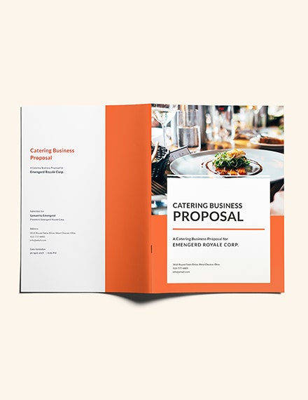 catering business proposal template1