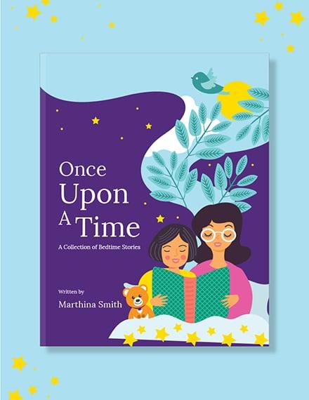children s book cover template 1x