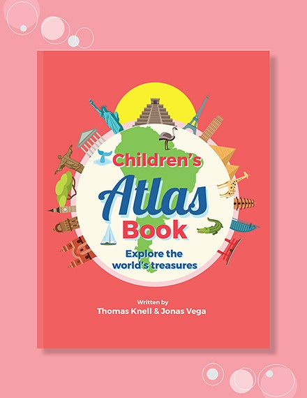 Children s Non Fiction Book Cover Template 1x