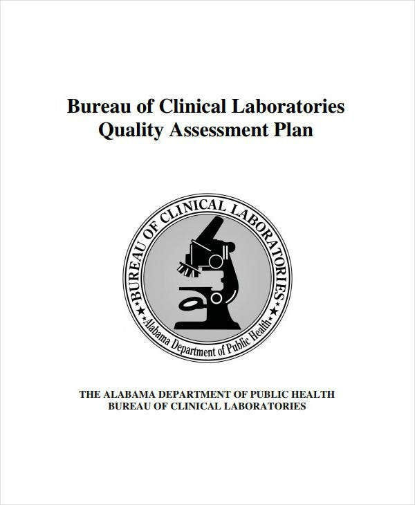 Clinical Laboratories Quality Assessment Plan
