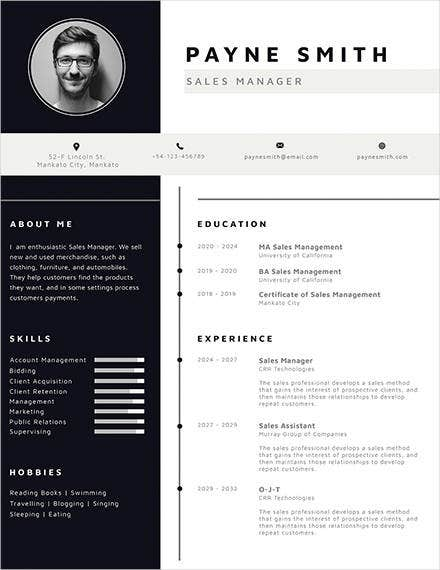 corporate-resume-template
