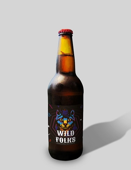 creative beer label sample template