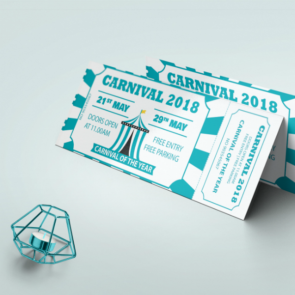 12 carnival event ticket designs templates psd ai word