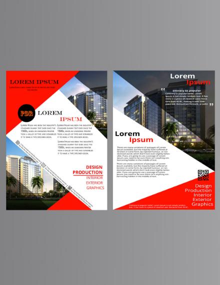 Design Production Business Brochure Template