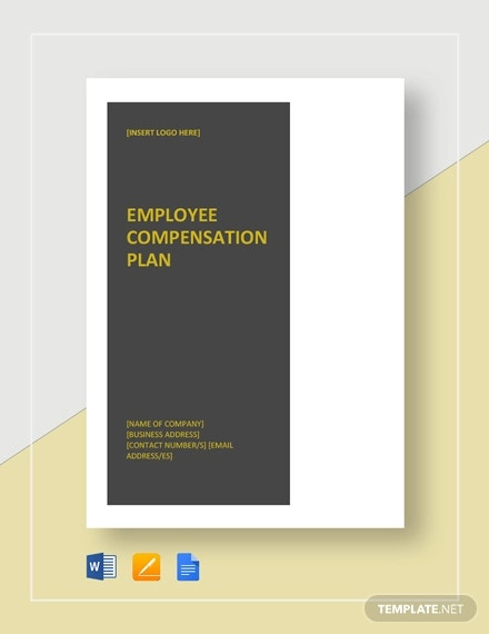 employee compensation plan template