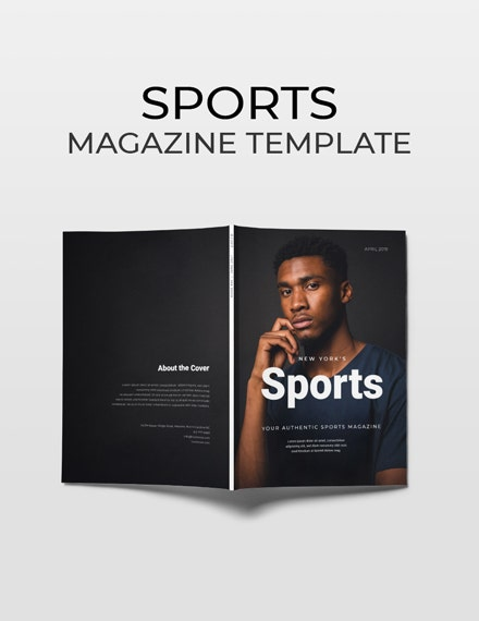 free design and tech magazine template 1x