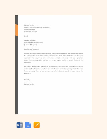 free giving donation letter template 440x570 1
