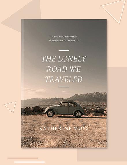 free non fiction book cover template 1x