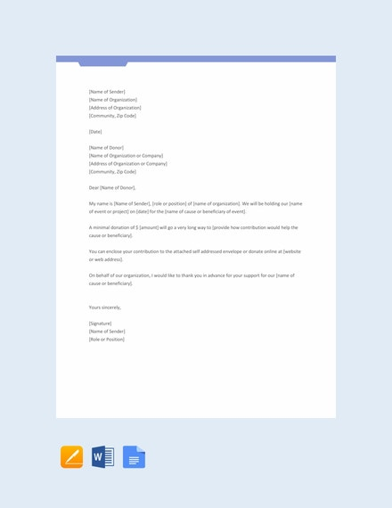 free printable donation request letter template 440x570 1
