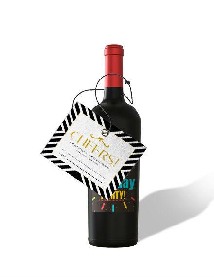 Gift Wine Label Mockup4401