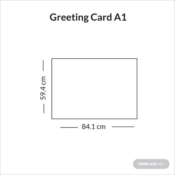 greeting card a1 size infographic