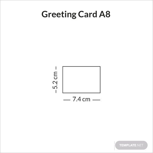 greeting card a8 sample infographic