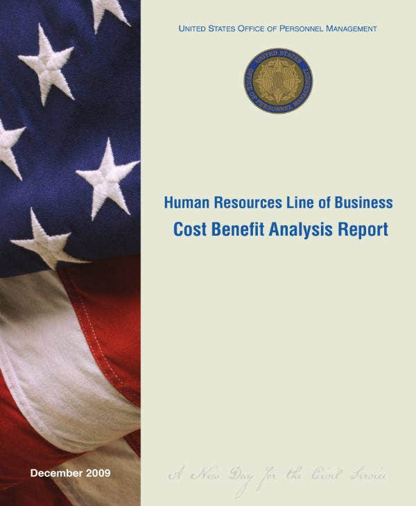 hr cost benefit analysis report
