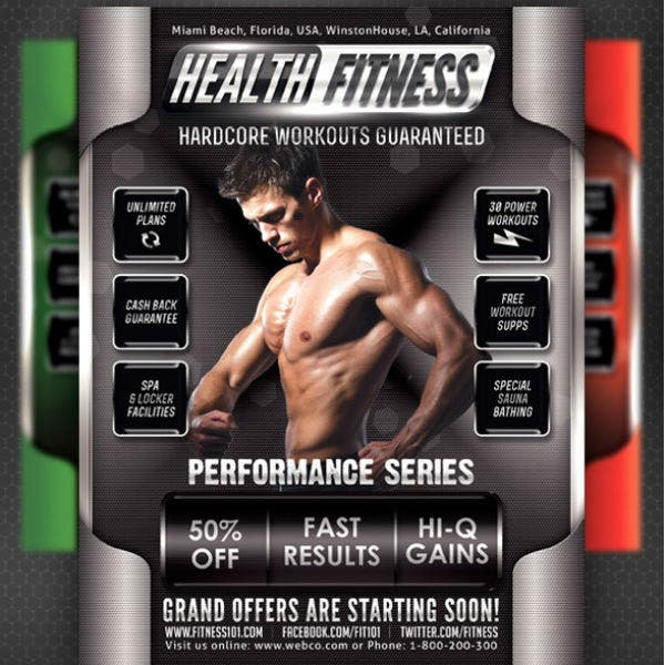 health-fitness-performance-flyer-template