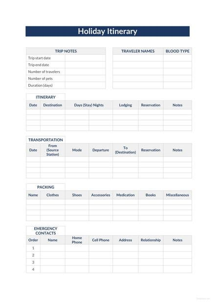 holiday itinerary template 1 440x622