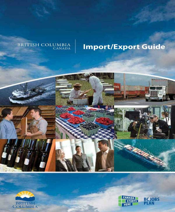 import and export business plan example